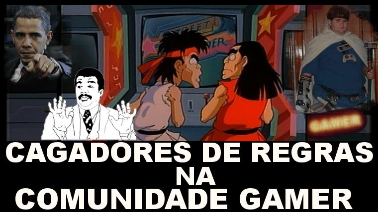 Cagadores de Regras na Comunidade Gamer – DGpodcast #04