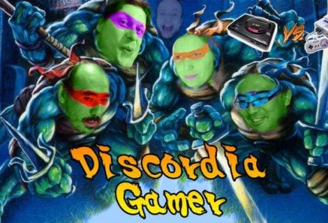 Discordia Gamer Teenage Mutant Ninja Turltes
