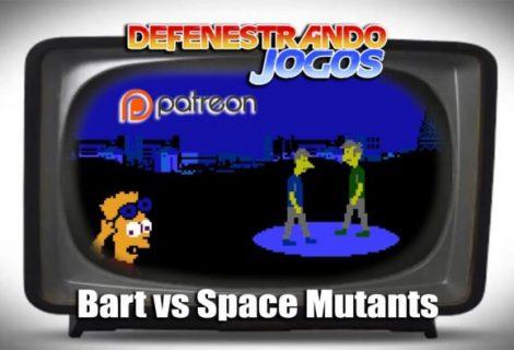 #Patreon Defenestrando The Simpsons Bart vs Space Mutants