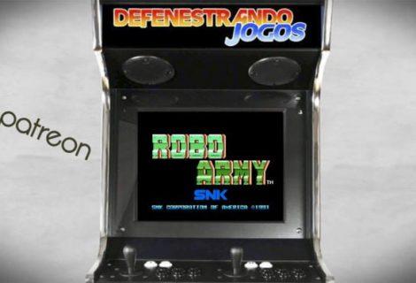 #Patreon  Fliperama Nostalgico / 1991 / Robo Army