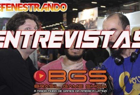 Defenestrando Entrevistas na Brasil Game Show