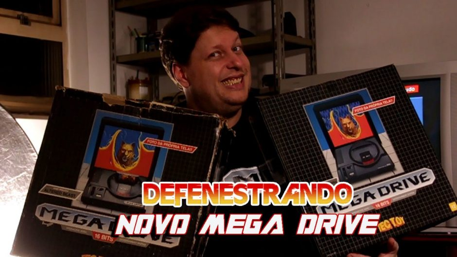 Defenestrando Novo Mega Drive da Tec Toy