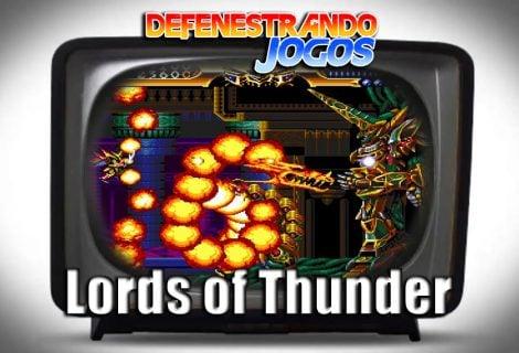 Defenestrando Lords of Thunder
