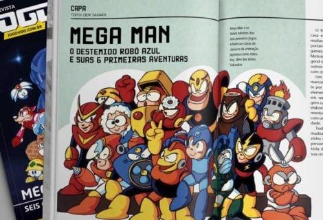 Revista Jogo Véio destrincha a serie Megaman em sua segunda edição física