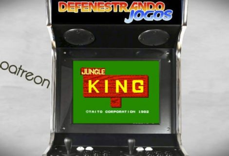 #Patreon Fliperama Nostálgico Jungle King