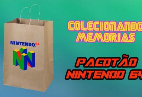 Colecionando Memórias #28 - Pacotão Nintendo 64