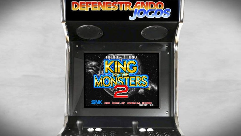 Fliperama Nostálgico King of The Monsters 2 – The Next Thing