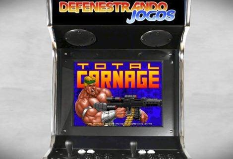 Fliperama Nostálgico | 1992 | Total Carnage