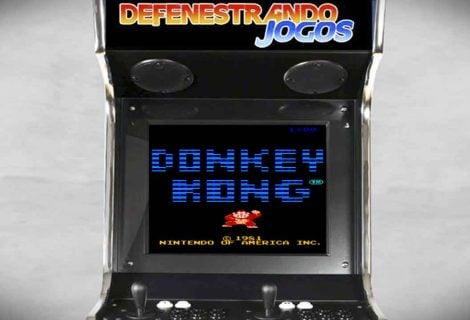 Fliperama Nostálgico | 1981 | Donkey Kong