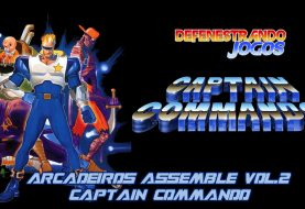 Arcadeiros Assemble Vol.2 - Captain Commando