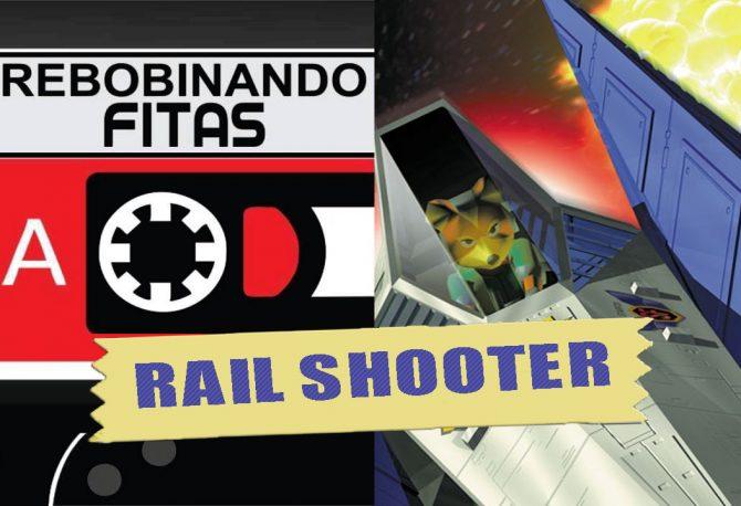 """Rebobinando Fitas#23 - Rail Shooter """"Presos nos Trilhos"""""""
